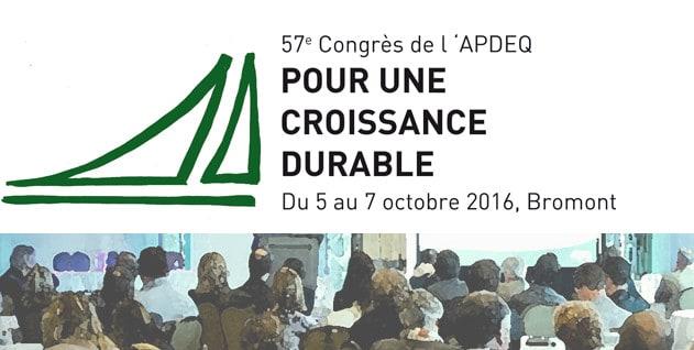 Congrès de l'APDEQ 2016