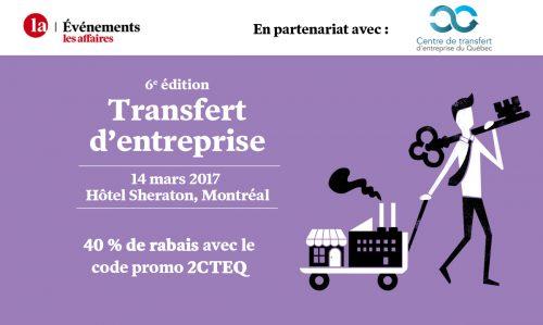 Conférence Les Affaires : Transfert d'entreprise
