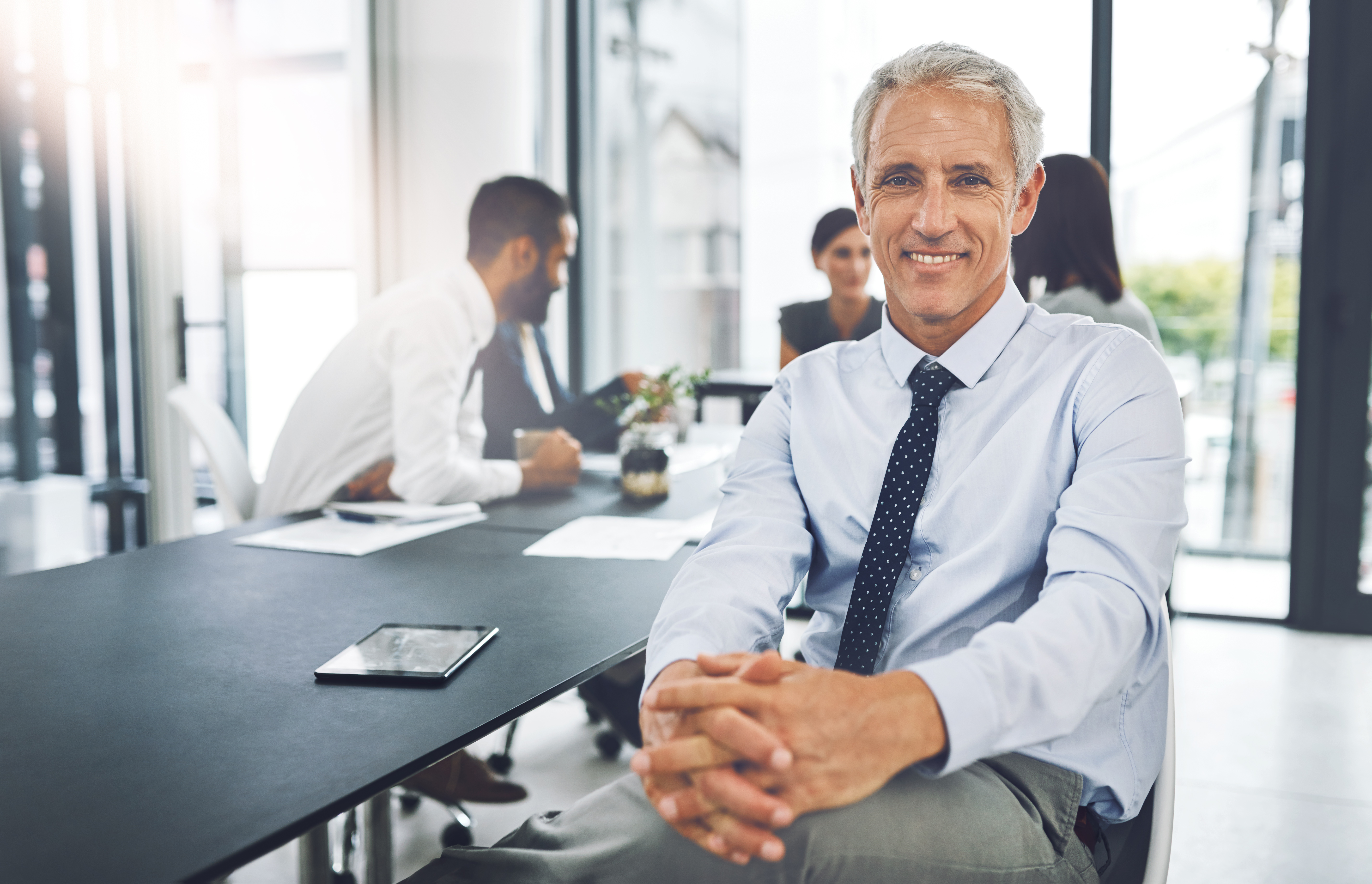 un chef d'entreprise souhaitant vendre son entreprise
