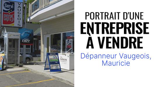 Portrait d'une entreprise à vendre : Dépanneur Vaugeois