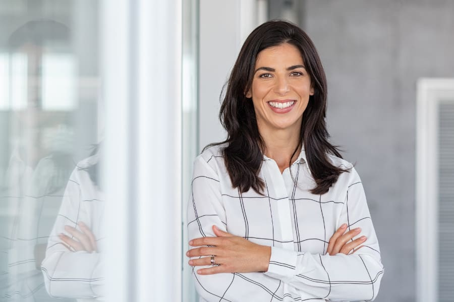 entrepreneure ayant un plan de relève pour son entreprise