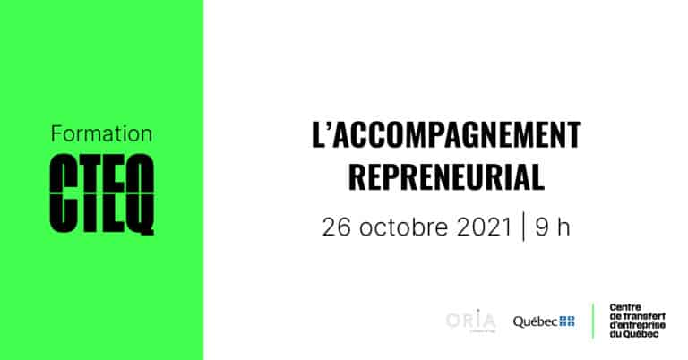 Formation : accompagnement repreneurial