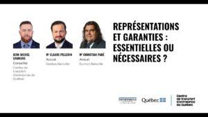 representations et garanties contrat d'entreprise
